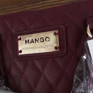 Authentic MANGO Bowling Style Bag