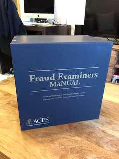 Certified Fraud Examiner (CFE) - Manual, Box Set