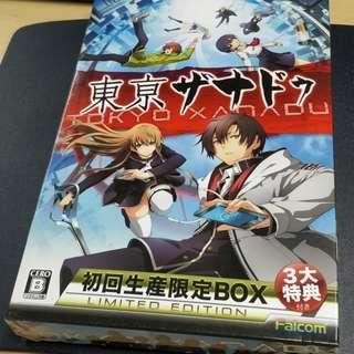 PS Vita Tokyo Xanadu First Release Limited Box