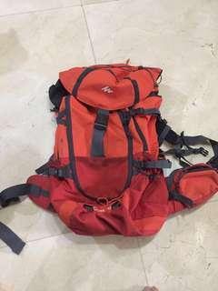 Tas gunung carrier Quechua Forclaz 60 / 60l original not eiger osprey consina