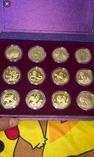 Venhonia coin  full set( 十二生肖)