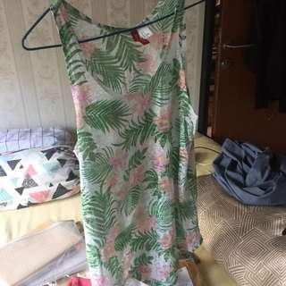 h&m divided tanktop summer