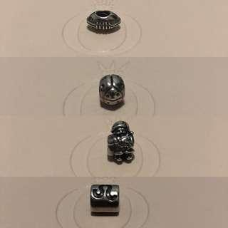 Authentic Pandora charms sold separately
