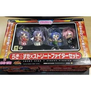 Nendoroid Petite Lucky Star x Street Fighter