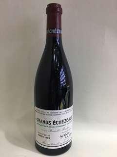 DRC Grands Echezeaux 1999 750ml
