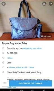 Reprice Diaper Bag Mom s Baby