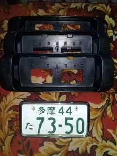 plat holder eg9 original japan