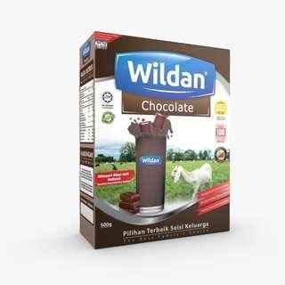 Wildan Susu Kambing Perasa Coklat 500 gram