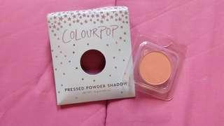 colorpop single eyeshadow shade lay low