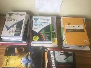 VCE Units 3&4 textbooks