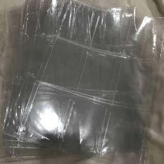 instock photocard sleeves refills
