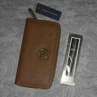 Original Tommy Hilfiger Wallet free VS Perfume