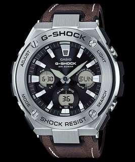 🚚 G-Shock G-STEEL GST-S130L-1A Tough Leather Band Vintage Solar Watch
