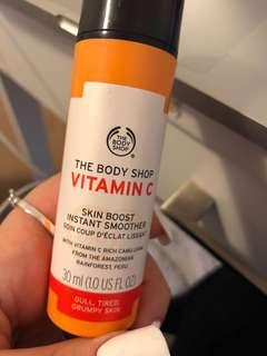 Vitamin C face booster
