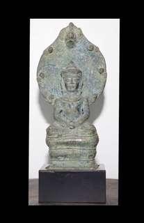 Naga Seated Buddha 1400s (600 Years)