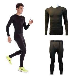 🚚 Base Layer Compression Tights Pro Combat
