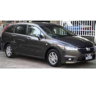 Honda Stream - MPV CAR FOR GRAB DRIVER. HOT PROMO. CALL NOW. ALVIN 96906852