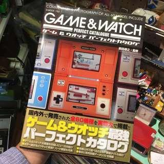 懷舊遊戲機 Game and Watch 目錄