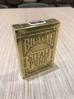 Original Bicycle Gold Steampunk Playing Card