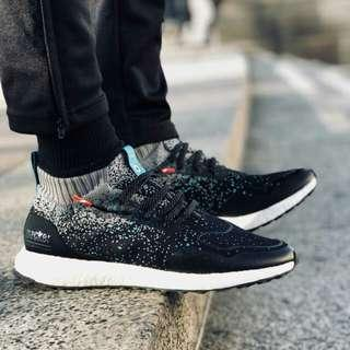 US 9 Adidas Mens Ultra Boost Mid (Packers x Solebox Collab)