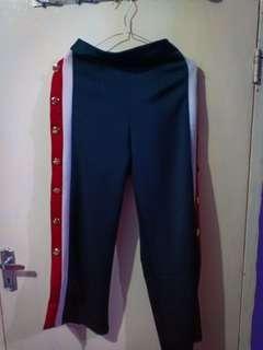 Celana Panjang Syahrini Kancing Samping