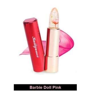 【Authentic】 Kailijumei Japan Secret Jelly Flower Enchanted Lipstick (Color: Barbie Doll Pink)