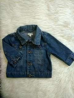 Jaket jeans original cotton on baby