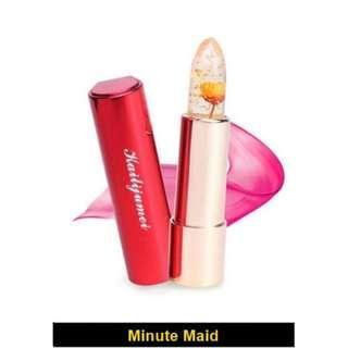 【Authentic】 Kailijumei Japan Secret Jelly Flower Enchanted Lipstick (Color: Minute Maid)