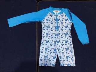 Sandbox swimsuit for toddlers (1.5 to 2.5 years old)