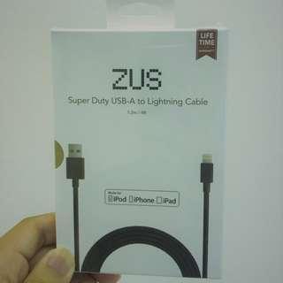 Zus Nonda Lighting Charging Cable