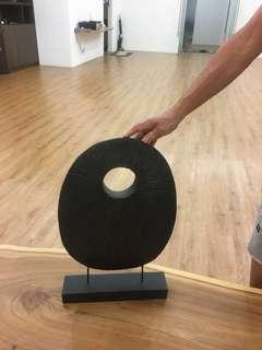 Wooden sculpture. Minimal, Zen, Modern