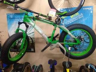 "TACTICAL 20"" kids fat bike"