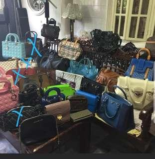 On Sale! Assorted Pre Owned Branded Bags - From 1500 to 4500