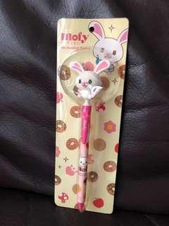 C583–Mofy兔仔鉛芯筆(注意包裝壓扁過,介意勿買)$20
