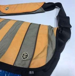 Price Reduced 🌈Crumpler (Barney Rustle Blanket)Orange Coloured.