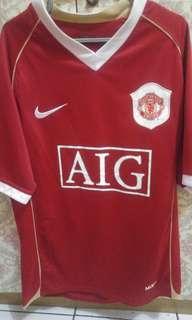 Manchester united mu home retro 2006/2007