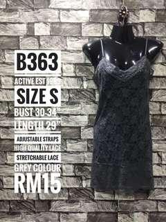 Dress full lace lingerie