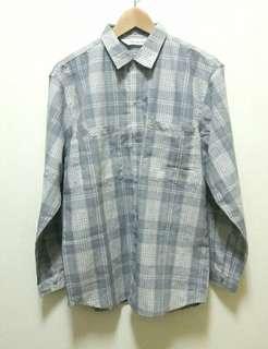 🚚 🔥古著 格子 格紋 長袖 襯衫 上衣 休閒 百搭 稀有 老品 復古 Vintage