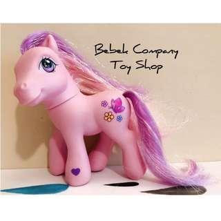 蝴蝶 小花 2002 Hasbro My Little Pony MLP G3 古董玩具 我的彩虹小馬 第三代 彩虹小馬