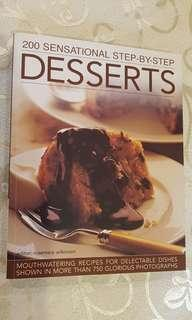 (Good for gifts) Dessert cookbook