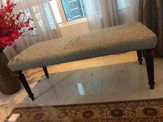 Bench chair fabric customer made