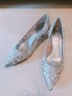 Rene Caovilla wedding high heels