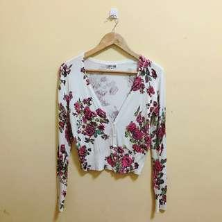 Options Floral Sweater