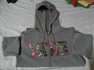 Vans zipped hoodie