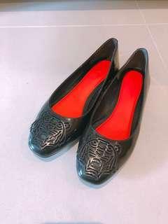 Kenzo black flat shoes
