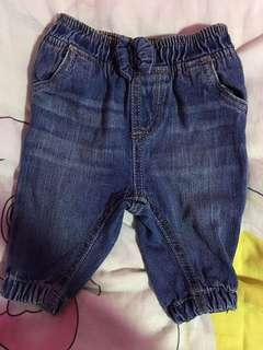 Mothercare Babygirl jeans 1-3Months