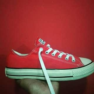 Converse ct low red edition