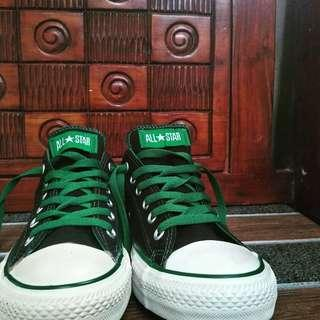 Converse ct low bw green rope