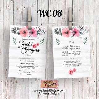 Wedding Card WC08