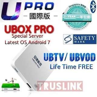 🚚 【Latest Ubox Gen 5 SG Version】Authorised Seller Local warranty 1 Year support New Arrival Original Ubox Gen 5 Ubox Pro Upgraded Latest Operating System Upro